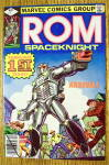 ROM Space Knight Comic #1 December 1979 Arrival