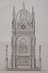 Click to view larger image of Tabernacle Dans L'Eglise D'or San Michele, A Florence (Image1)