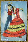 Click to view larger image of Ballet Espanol Postcard-Fabric Overlay-4. Soleares (Image3)