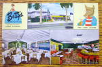 Click here to enlarge image and see more about item 18625: Betty's Restaurant Postcard (Florida)