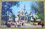 Sleeping Beauty Castle In Disneyland Postcard