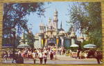 Click to view larger image of Sleeping Beauty Castle In Disneyland Postcard (Image2)
