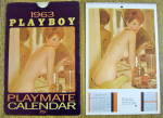 Click here to enlarge image and see more about item 19201: Playboy Playmate Calendar 1963 Christa Speck