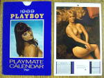 Click here to enlarge image and see more about item 19204: Playboy Playmate Calendar 1969 Gwen Wong/Connie Kreski
