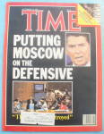 Click to view larger image of Time Magazine - September 19, 1983 Moscow On Defense (Image1)
