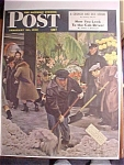 Click here to enlarge image and see more about item 1930-001043: Saturday Evening Post Cover -Falter- February 28, 1948