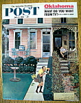 Click here to enlarge image and see more about item 1930-001046: Saturday Evening Post Cover-Falter-July 1, 1961