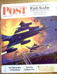 Click to view larger image of 1962 Saturday Evening Post Cover (Only) By Mc Call (Image2)