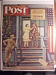 Click here to enlarge image and see more about item 1930-001061: Saturday Evening Post Cover -Dohanos- July 5, 1947