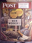 Click here to enlarge image and see more about item 1930-001062: Saturday Evening Post Cover -Dohanos- April 12, 1947