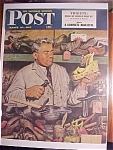Click here to enlarge image and see more about item 1930-001064: Saturday Evening Post Cover -Dohanos- March 20, 1948