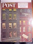 Click here to enlarge image and see more about item 1930-001065: Saturday Evening Post Cover - Falter - January 3, 1948