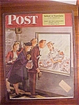 Click here to enlarge image and see more about item 1930-001075: Saturday Evening Post Cover By Alajalov - Nov  2, 1946