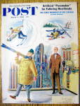 Saturday Evening Post Cover By Alajalov-March 4, 1961