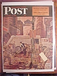 Click here to enlarge image and see more about item 1930-001087: Saturday Evening Post Cover -Dohanos- January 4, 1947