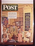 Click here to enlarge image and see more about item 1930-001092: Saturday Evening Post Cover -Dohanos- September 6, 1947