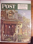 Click here to enlarge image and see more about item 1930-001271: Saturday Evening Post Cover By John Falter-May 8, 1948