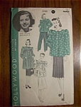Click here to enlarge image and see more about item 1930-001576: 1940's Hollywood Patterns Ann Miller