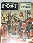 Click here to enlarge image and see more about item 1930-001597: Saturday Evening Post Cover -Dohanos- November 14, 1953