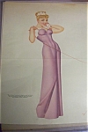 Click here to enlarge image and see more about item 1930-001689: Lithograph Pin Up By Petty - 1940's