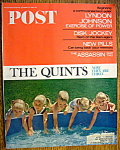 Saturday Evening Post Magazine-Sept 24, 1966-The Quints