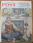 Click here to enlarge image and see more about item 1930-001922: Saturday Evening Post Cover -Dohanos- January 14, 1956