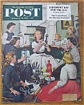 Click here to enlarge image and see more about item 1930-001923: Saturday Evening Post Cover -Dohanos- February 26, 1955