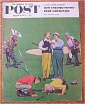 Click here to enlarge image and see more about item 1930-001924: Saturday Evening Post Cover - Falter - August 6, 1955