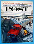 Click here to enlarge image and see more about item 1930-001926: Saturday Evening Post Cover - Feb 24, 1962 - Williamson