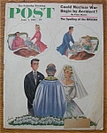 Click here to enlarge image and see more about item 1930-001930: Saturday Evening Post Cover By Alajalov - June 3, 1961