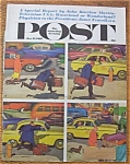 Click here to enlarge image and see more about item 1930-001931: Saturday Evening Post Cover-Oct 21, 1961-Dick Sargent