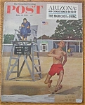 Click here to enlarge image and see more about item 1930-001932: Saturday Evening Post Cover-June 17, 1961-Dick Sargent