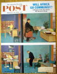 Click here to enlarge image and see more about item 1930-001933: Saturday Evening Post Cover-Feb 18, 1961-Dick Sargent