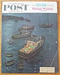 Saturday Evening Post Cover By Prins - August 20, 1960