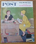 Click here to enlarge image and see more about item 1930-001938: Saturday Evening Post Cover By Sewell - Dec 12, 1959