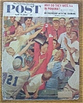 Click here to enlarge image and see more about item 1930-001949: Saturday Evening Post Cover-April 23, 1960-Dick Sargent