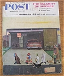 Click here to enlarge image and see more about item 1930-001953: Saturday Evening Post Cover - Falter - November 1, 1958
