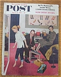 Click here to enlarge image and see more about item 1930-001960: Saturday Evening Post Cover - Sewell - March 31, 1956