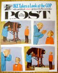 Click here to enlarge image and see more about item 1930-001970: 1962 Saturday Evening Post Cover (Only) By Sargent