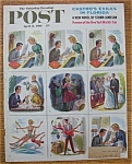 Click here to enlarge image and see more about item 1930-001971: Saturday Evening Post Cover By Alajalov - April 8, 1961