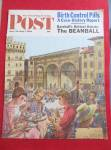 Click here to enlarge image and see more about item 1930-001975: Saturday Evening Post Cover By Alajalov-June 30, 1962