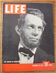 October 31, 1938 Life Magazine Abe Lincoln On Broadway