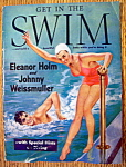 Click to view larger image of Get Into Swim Magazine - 1940 - Johnny Weismuller (Image1)
