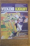 Click here to enlarge image and see more about item 1930-002045: Weekend Kickoff Magazine - October 20, 1974