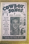 Click here to enlarge image and see more about item 1930-002050: Cowboy Songs Magazine - Ray Price - August 1954