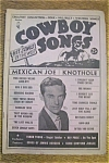 Click here to enlarge image and see more about item 1930-002052: Cowboy Songs Magazine - Ray Price - September 1953