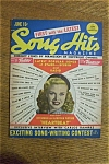 Click here to enlarge image and see more about item 1930-002061: Song Hits Magazine - June 1946 - Ginger Rogers