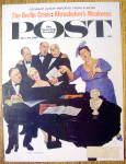 Click here to enlarge image and see more about item 1930-00207: Saturday Evening Post Cover By Sargent-Dec 16, 1961