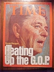 Time Magazine - November 24, 1975 - Ronald Reagan Cover
