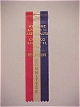 Click here to enlarge image and see more about item 1930-00459: Apollo 11 - August 13, 1969 Reception Committee Ribbon
